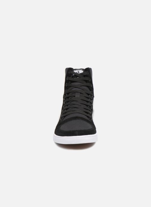 Stadil Black Baskets Hummel Kh white Canvas Slimmer High rdhstQ