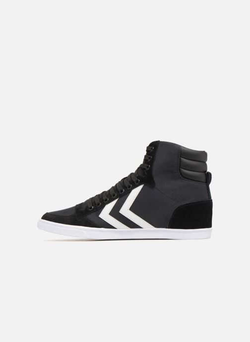 Sneakers Hummel Hummel Slimmer Stadil High canvas Nero immagine frontale
