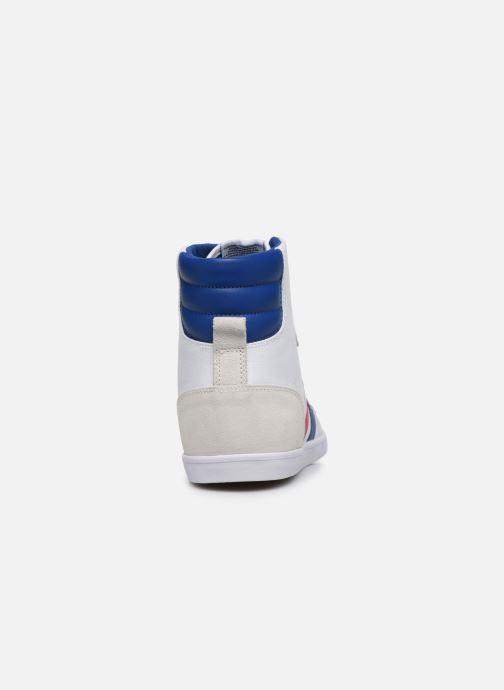 Sneaker Hummel Hummel Slimmer Stadil High canvas weiß ansicht von rechts