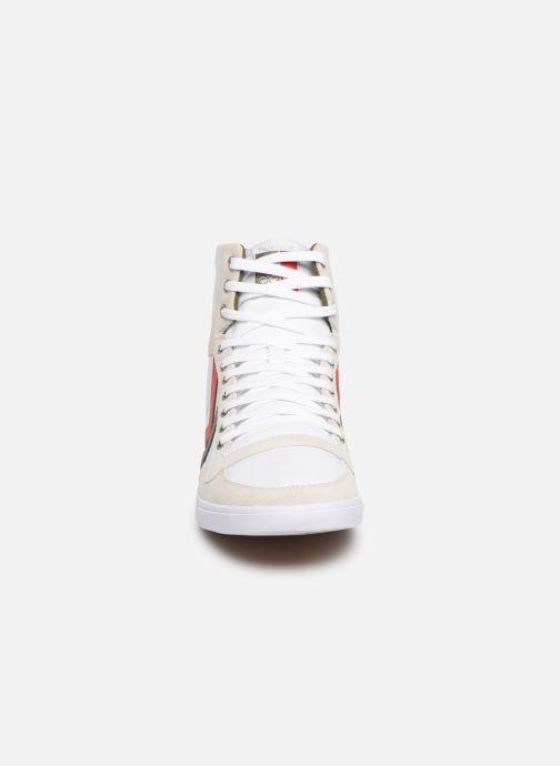 Sneaker Hummel Hummel Slimmer Stadil High canvas weiß schuhe getragen