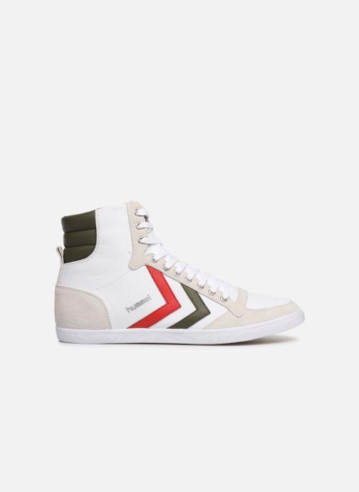 Sneaker Hummel Hummel Slimmer Stadil High canvas weiß ansicht von hinten