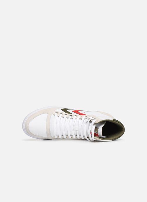 Sneaker Hummel Hummel Slimmer Stadil High canvas weiß ansicht von links