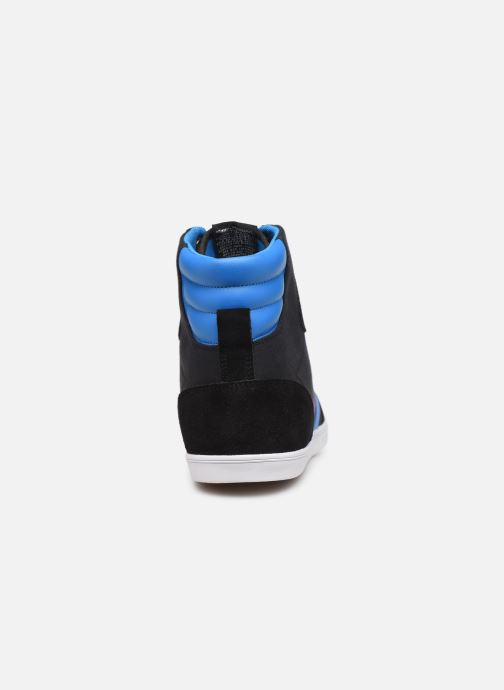 Trainers Hummel Hummel Slimmer Stadil High canvas Black view from the right