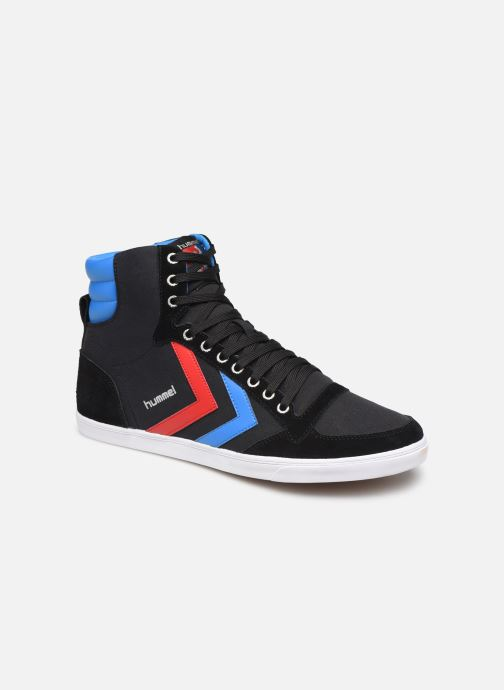 Trainers Hummel Hummel Slimmer Stadil High canvas Black detailed view/ Pair view