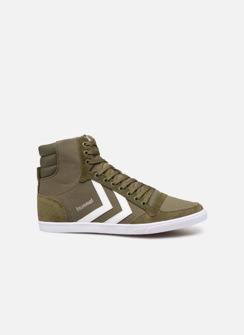 Sneaker Hummel Hummel Slimmer Stadil High canvas grün ansicht von hinten