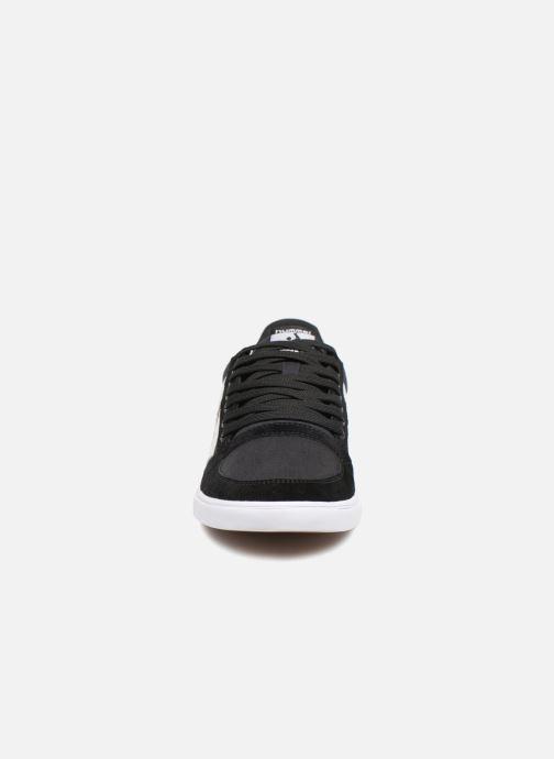 Sneaker Hummel Hummel Slimmer Stadil Low canvas schwarz schuhe getragen