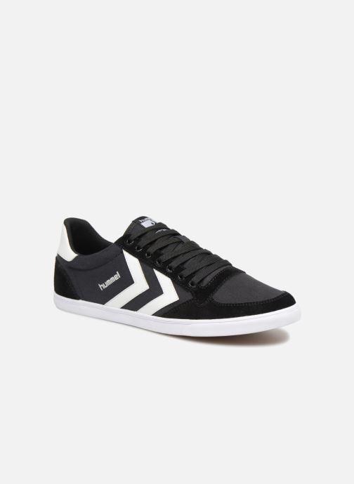 d185fd8e48a3 Sneakers Hummel Hummel Slimmer Stadil Low canvas Sort detaljeret billede af  skoene