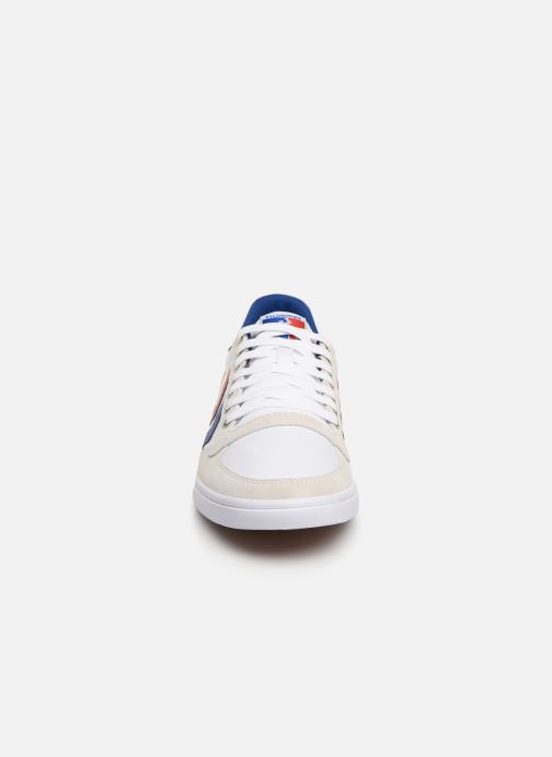 Baskets Hummel Hummel Slimmer Stadil Low canvas Blanc vue portées chaussures