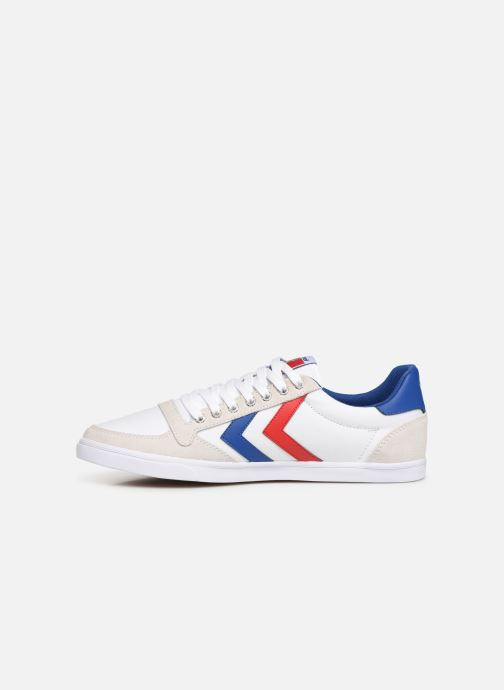 White Low Baskets blue Hummel Stadil Canvas red Slimmer gum W2IDE9HY