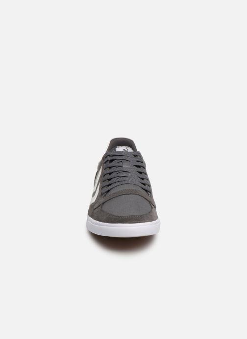 Sneaker Hummel Hummel Slimmer Stadil Low canvas grau schuhe getragen