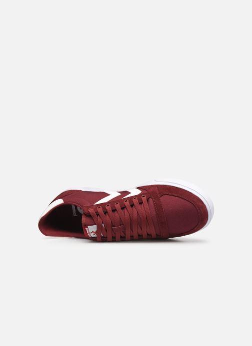 Sneakers Hummel Hummel Slimmer Stadil Low canvas Bordeaux links