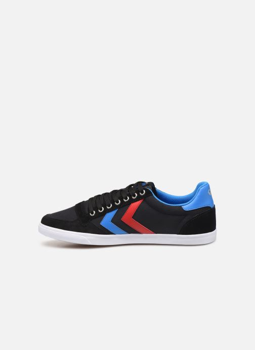 Sneakers Hummel Hummel Slimmer Stadil Low canvas Nero immagine frontale