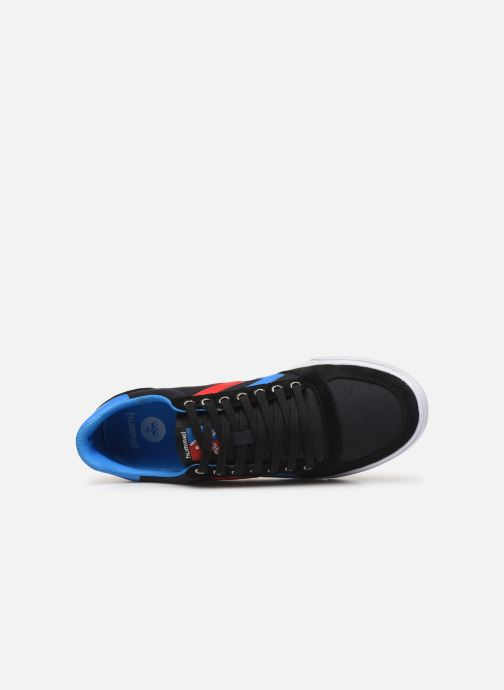 Trainers Hummel Hummel Slimmer Stadil Low canvas Black view from the left