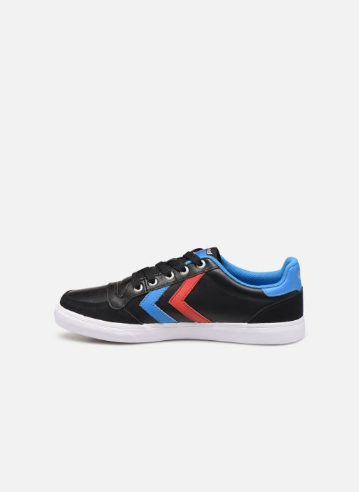 Trainers Hummel Hummel Slimmer Stadil Low canvas Black front view