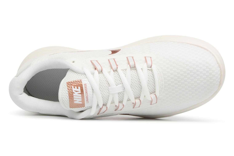 Chaussures de sport Nike Wmns Nike LunarConverge Blanc vue gauche