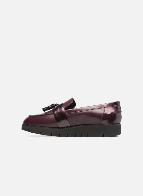 Loafers Geox D BLENDA A D740BA Purple front view