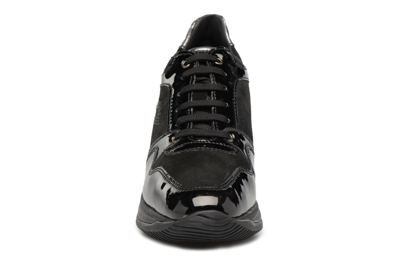 Baskets Geox D REGINA B Noir vue portées chaussures