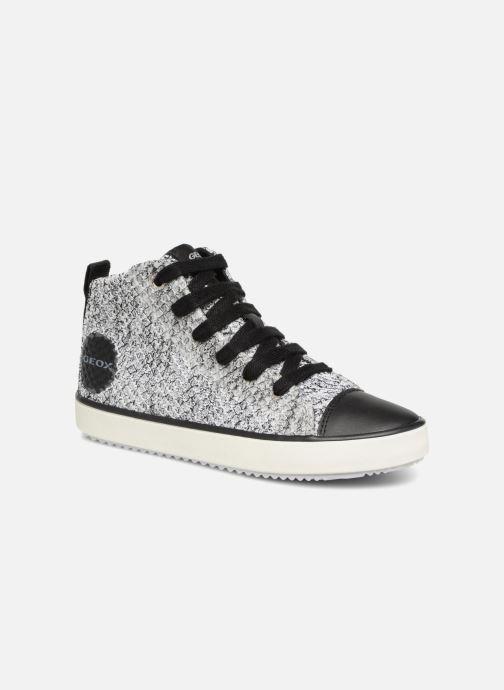9fee66a8a30 Sneakers Geox J ALONISSO B Grå detaljeret billede af skoene