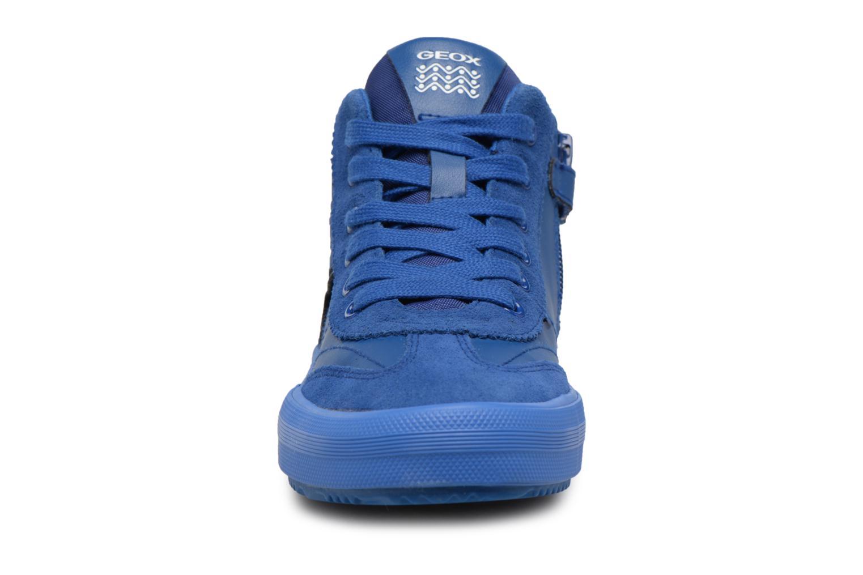 Baskets Geox J ALONISSO B Bleu vue portées chaussures