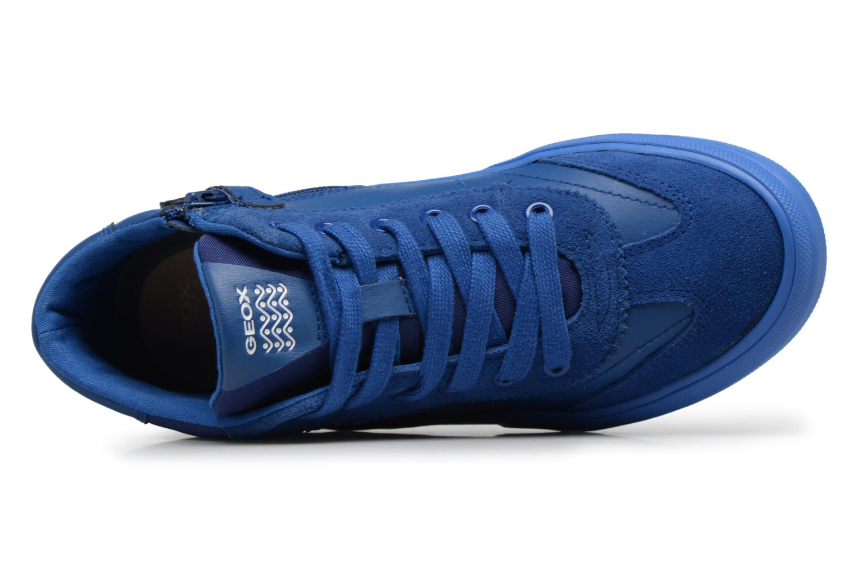 Baskets Geox J ALONISSO B Bleu vue gauche