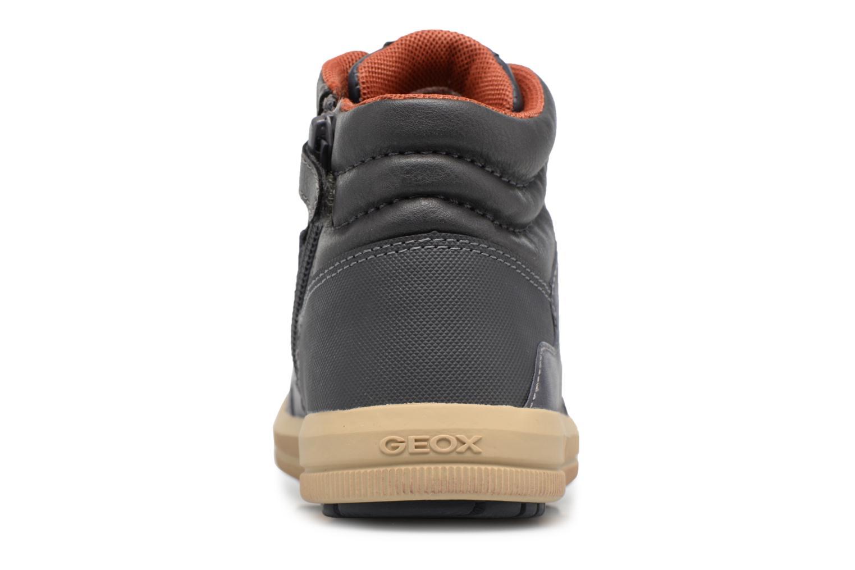 Sneaker Geox J ARZACH B. D blau ansicht von rechts