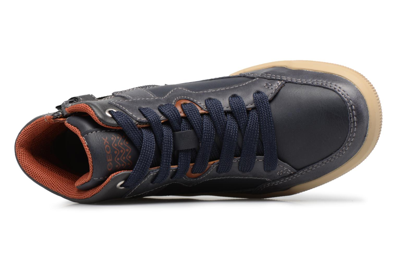 Sneaker Geox J ARZACH B. D blau ansicht von links