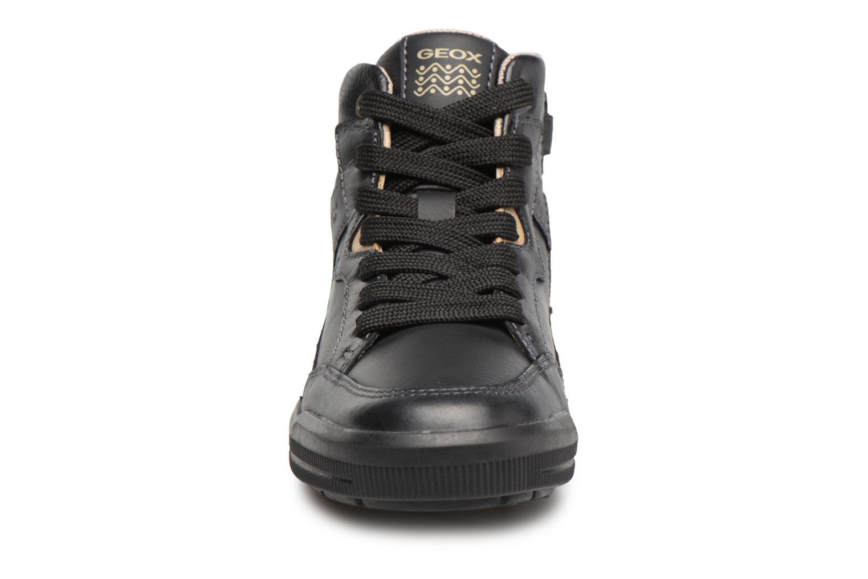 Baskets Geox J ARZACH B. D Noir vue portées chaussures