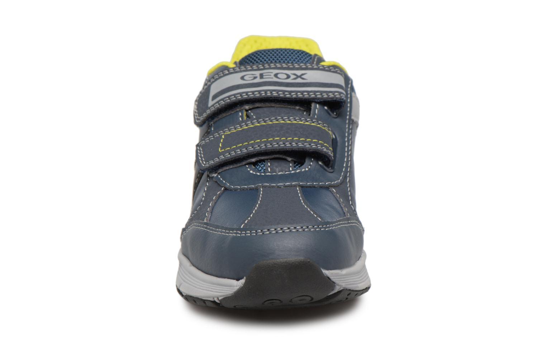 Sneaker Geox J TOP FLY B. B blau schuhe getragen
