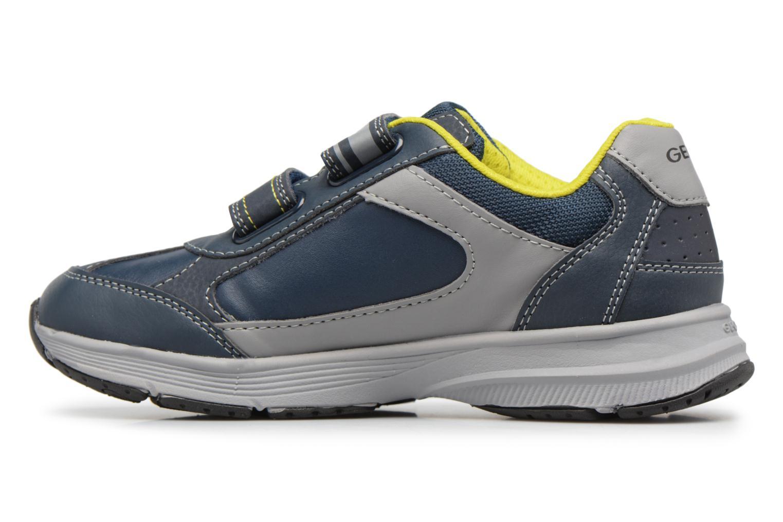 Sneaker Geox J TOP FLY B. B blau ansicht von vorne