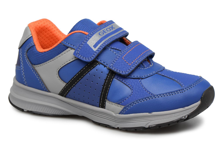 Baskets Geox J TOP FLY B. B Bleu vue détail/paire