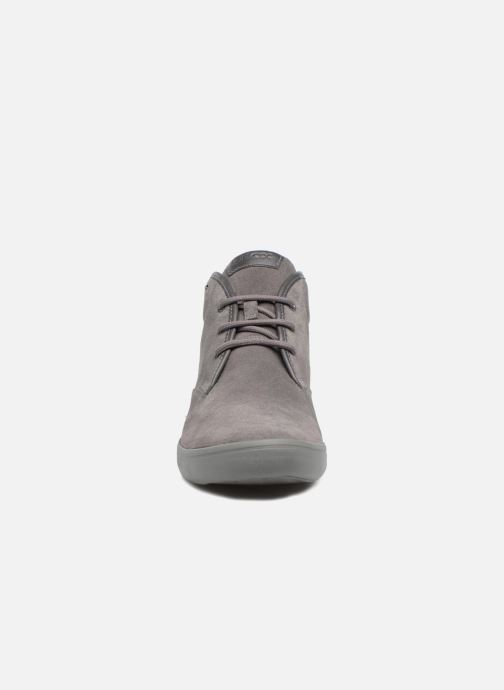 Sneaker Geox U BOX H grau schuhe getragen