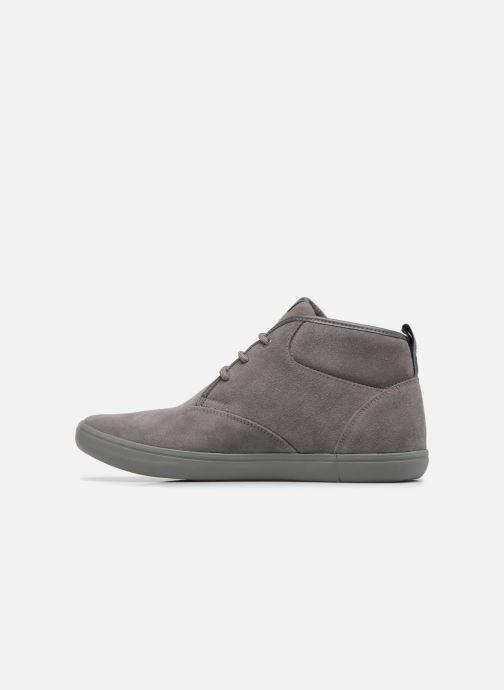Sneaker Geox U BOX H grau ansicht von vorne