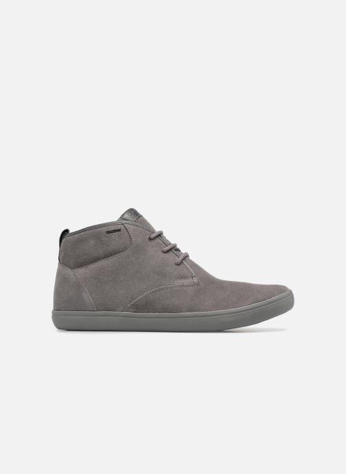 Sneaker Geox U BOX H grau ansicht von hinten
