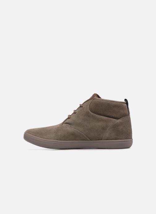 Sneaker Geox U BOX H braun ansicht von vorne