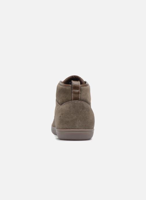 Sneaker Geox U BOX H braun ansicht von rechts