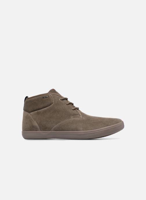 Sneaker Geox U BOX H braun ansicht von hinten