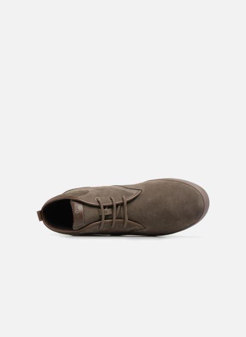 Sneaker Geox U BOX H braun ansicht von links
