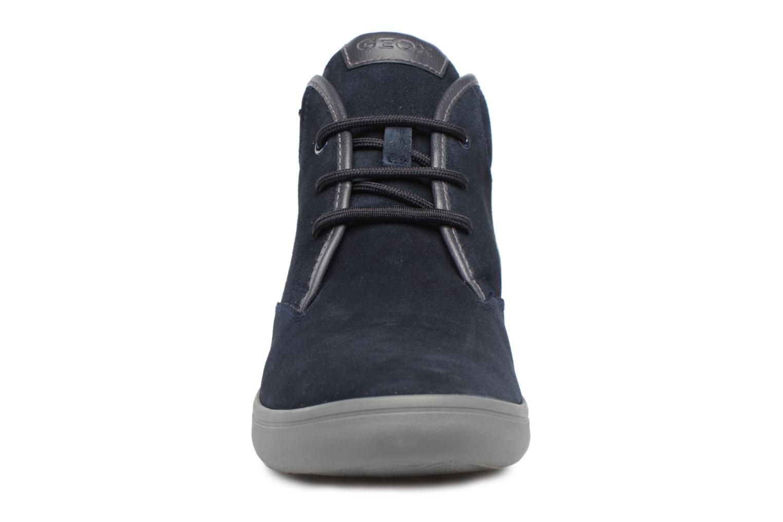 Baskets Geox U BOX H Bleu vue portées chaussures