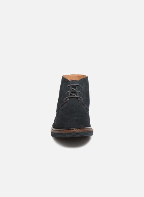 Bottines et boots Geox U DAMOCLE B Bleu vue portées chaussures