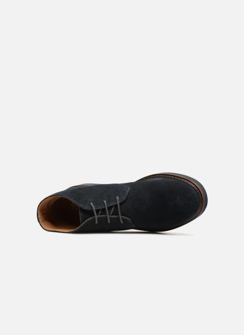Bottines et boots Geox U DAMOCLE B Bleu vue gauche