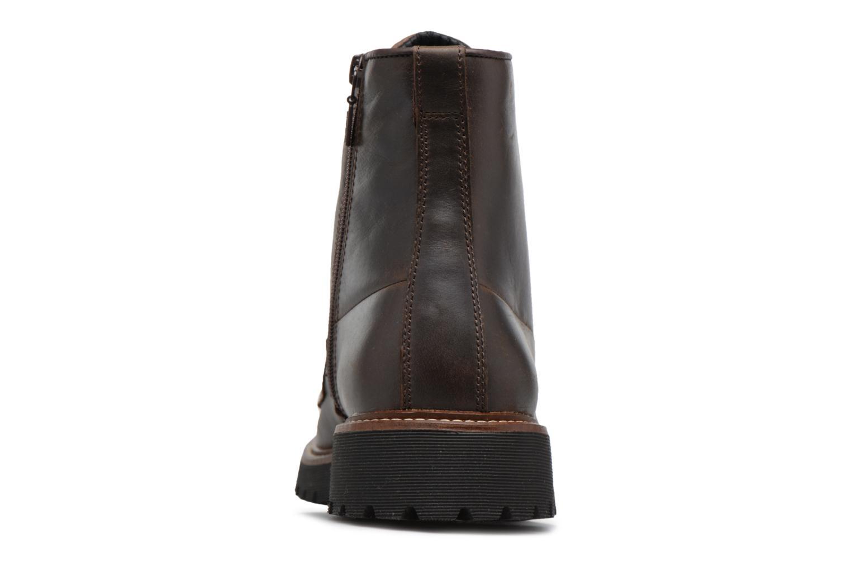 Bottines et boots Geox U KIEVEN B ABX C Marron vue droite
