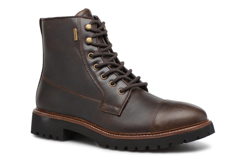 Bottines et boots Geox U KIEVEN B ABX C Marron vue détail/paire