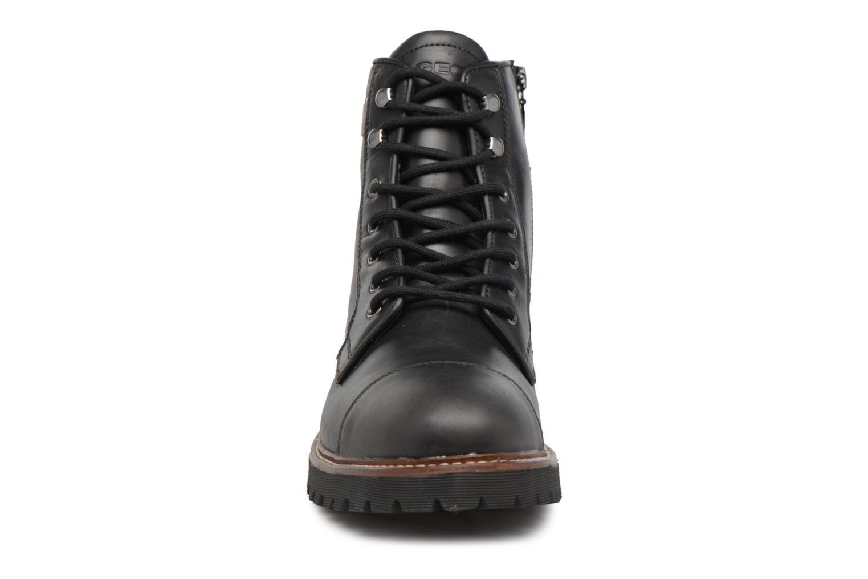 Bottines et boots Geox U KIEVEN B ABX C Noir vue portées chaussures