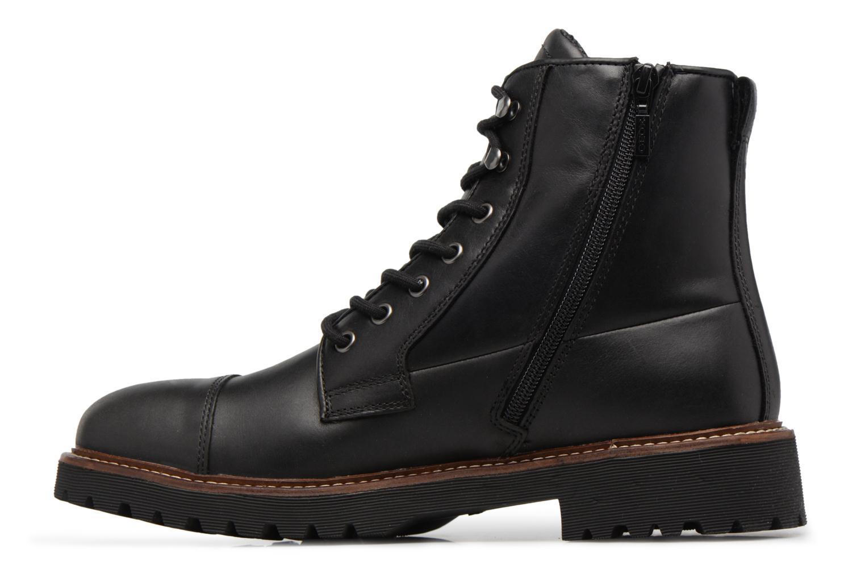 Bottines et boots Geox U KIEVEN B ABX C Noir vue face