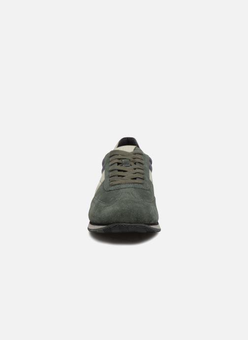Sneaker Geox U VINTO B grün schuhe getragen