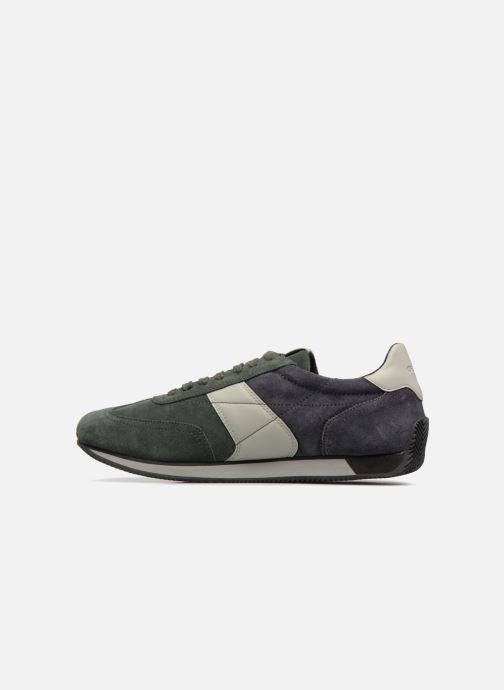 Sneaker Geox U VINTO B grün ansicht von vorne