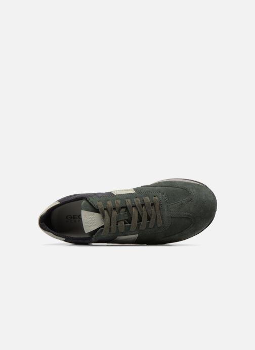 Sneaker Geox U VINTO B grün ansicht von links