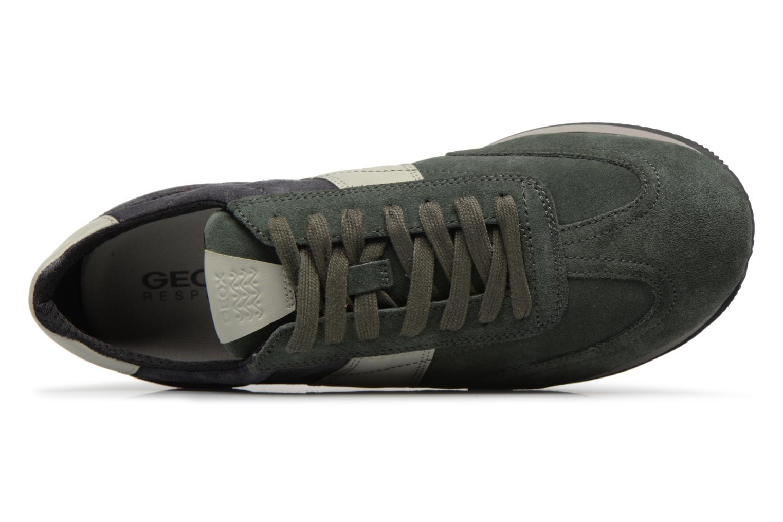 Sneakers Geox U VINTO B Verde immagine sinistra