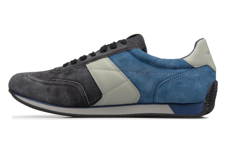 Sneakers Geox U VINTO B Nero immagine frontale