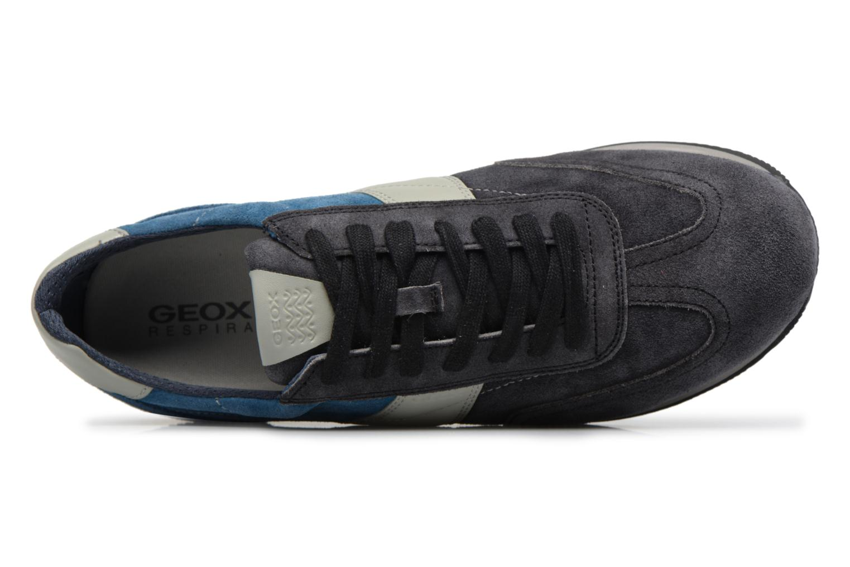 Sneakers Geox U VINTO B Nero immagine sinistra